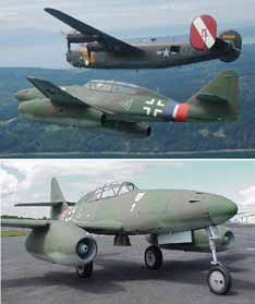 Here's Your Chance to fly a Real Messerschmitt Me-262
