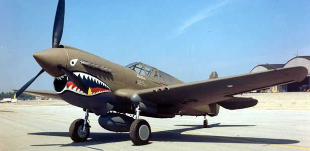 Friday Fighter: P-40 Warhawk