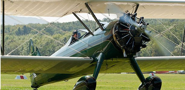 Super Stearman: Bulging Biplane Biceps