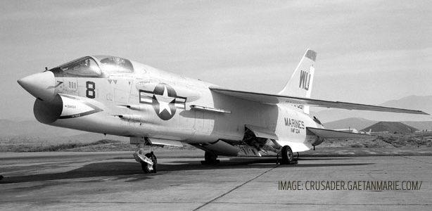 F8 Wings Folded