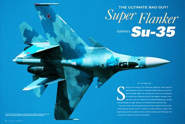 Super Flanker: Russia's SU-35
