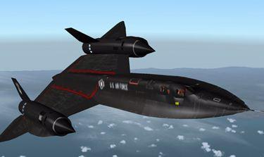 Mach 3.18 in-flight breakup of an SR-71 Blackbird