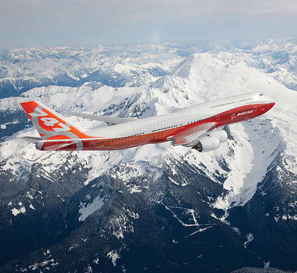 Boeing 747-8 Intercontinental is world's newest jetliner
