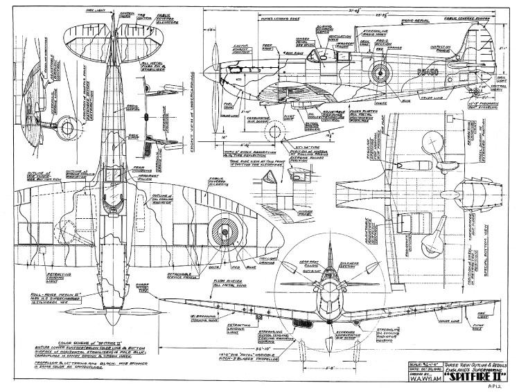 OnLine Free Artwork! Spitfire MK. II