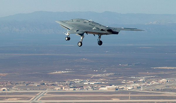 X-47B UCAS-D  enters  flight-test  activities