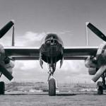 Hughes-XF-11-Howard-Hughes-Second-Prototype-Front