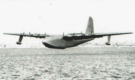 Hughes H-4 Hercules – Spruce Goose Flying Boat