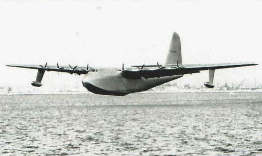 Hughes H-4 Hercules – Spruce Goose Flying Boat