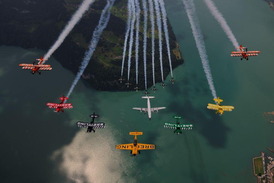 Breitling fleet air-to-air photo