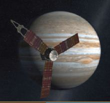 Juno Spacecraft on its way to Jupiter