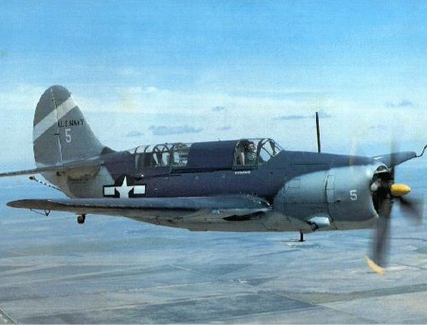 Curtiss Helldiver SB2C Found!