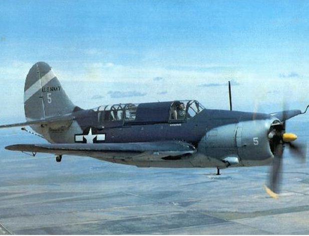 Curtiss Helldiver SB2C Found!