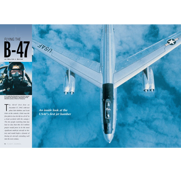 Flying the B-47