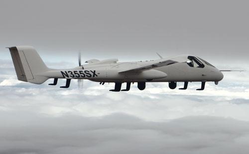 Northrop Grumman  Firebird Unveiled: