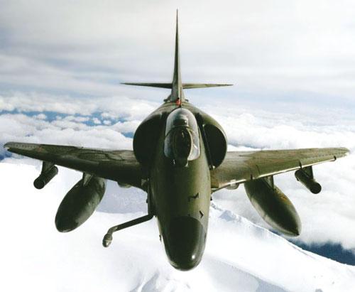 Kiwi Skyhawks  become museum pieces