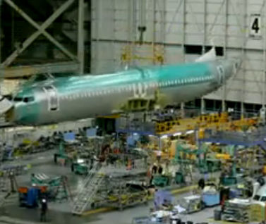Time-Lapse of Boeing air planes build [Video]