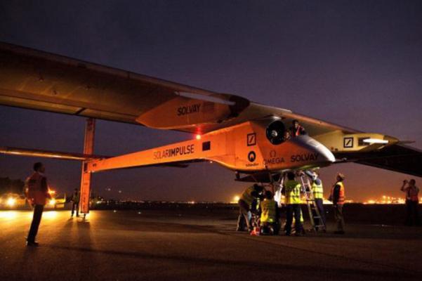 Solar Powered Plane Ready For New Flight
