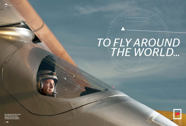 To Fly Around The World