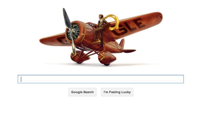 Google Honors Amelia Earhart