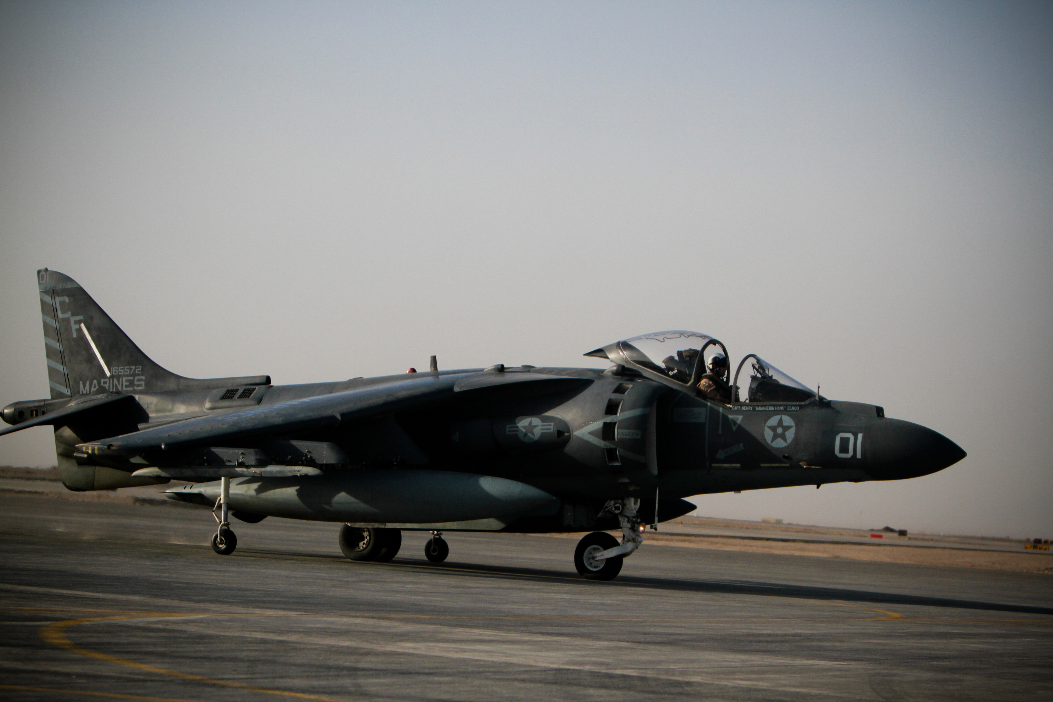 VMA-211 Bloodied, Not Beaten, by Afghan Attack