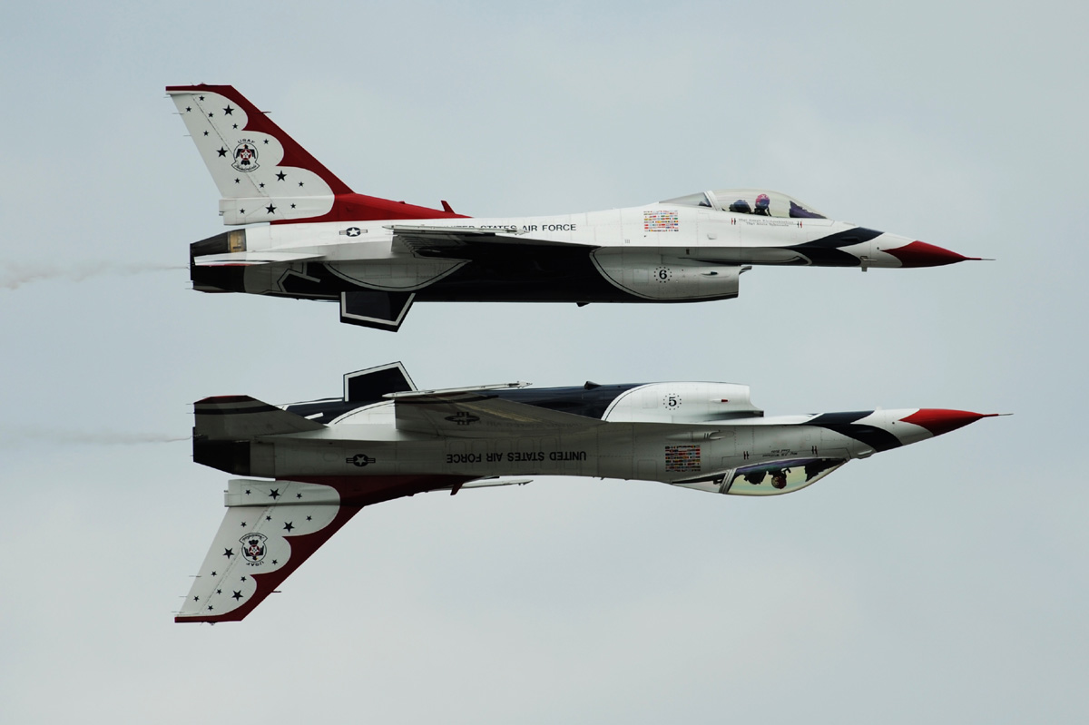 U.S. Air Force Thunderbirds, Canadian Forces Snowbirds To Headline Oct. 13-14 Beachside  Air Show