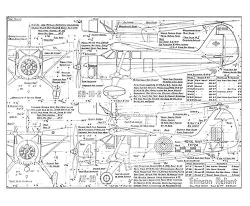 Stinson AT-19 Free Online Drawing