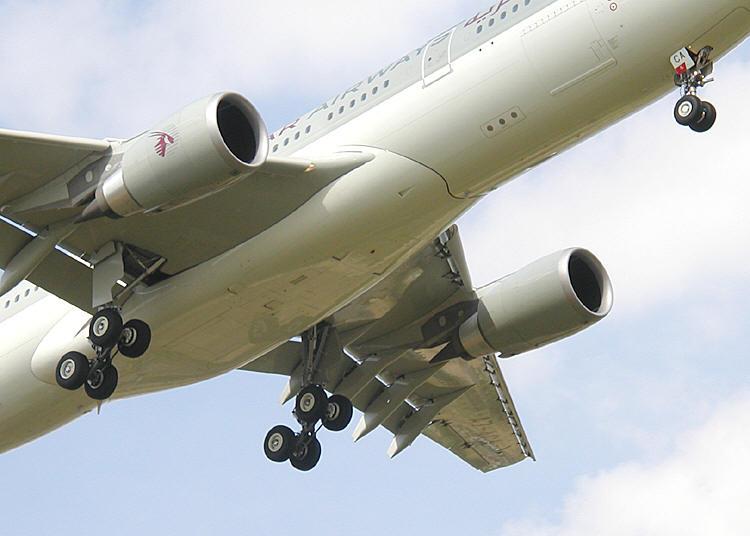 Airplane Part Lands in Man's Backyard