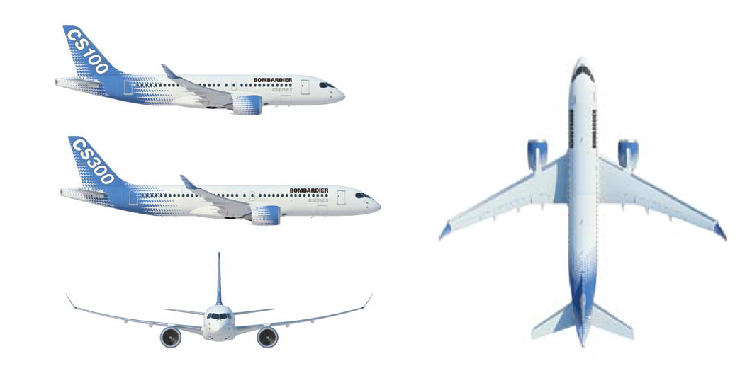 Bombardier Starts Building Boeing, Airbus Competitor