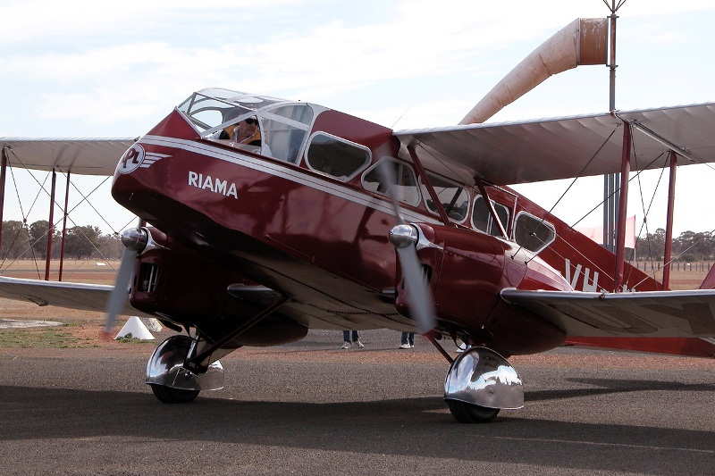 De Havilland DH.84 Missing in Australia
