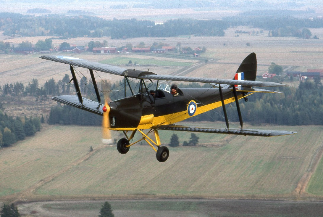 De Havilland Tiger Moth Steals the Show