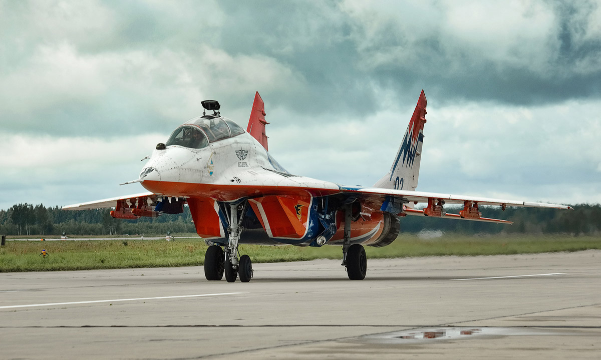 Russian Aerobatics Team Boss Fired