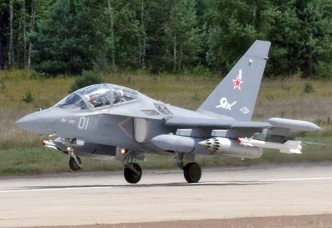 Russian Air Force Accepts First Yak-130