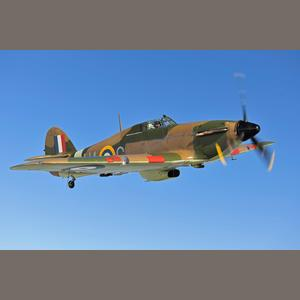 Hawker Hurricane Headed for Auction Block