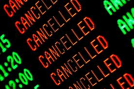 Airline Cancellations from Sandy Extend to Thursday