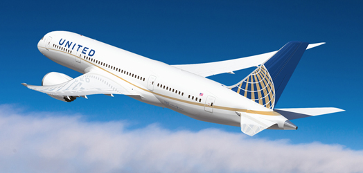 Boeing 787s for United Airlines Delayed