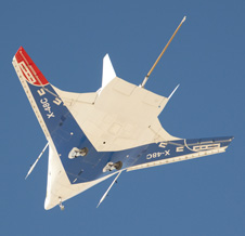 X-48 Research Plane Makes 100th Test Flight