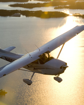 Cessna Hits SUV on Approach to Airport
