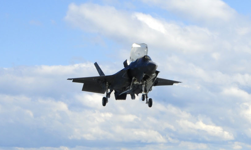 First F-35 Lightning Lands at MCAS Yuma