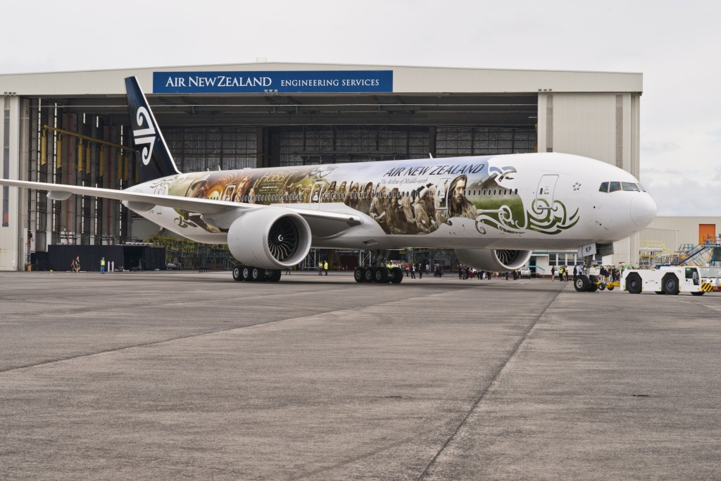 Air New Zealand Debuts Precious 777