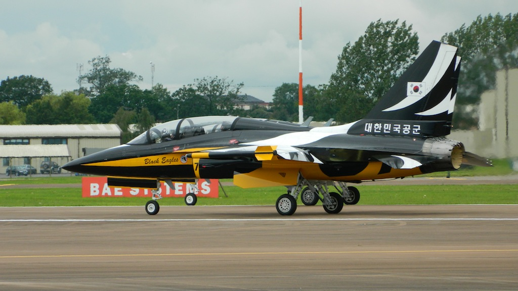Black Eagles Jet Crashes in South Korea