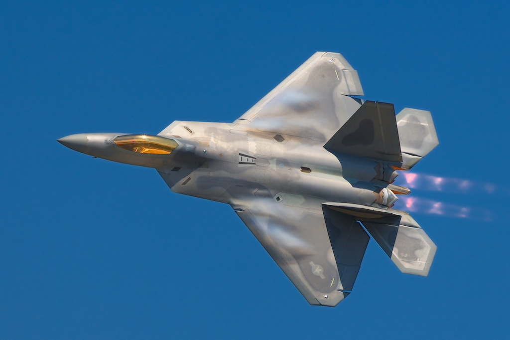 F-22 Crashes Near Florida Air Force Base