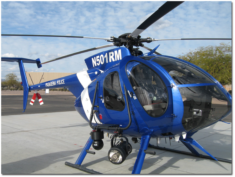 California Police Helicopter Crashes, Injuring Five