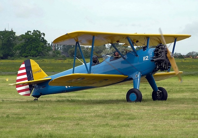 EAA to Give Away Stearman Model 75