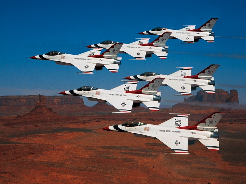 Aviation Nation Showcases Sin City's Military Side