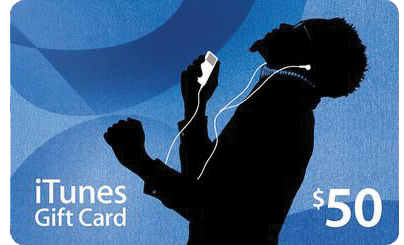 Win a $50 iTunes Gift Card!