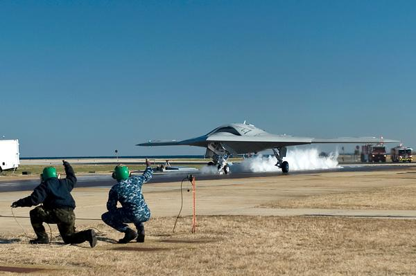 X-47B UCAS Completes Historic Catapult Launch