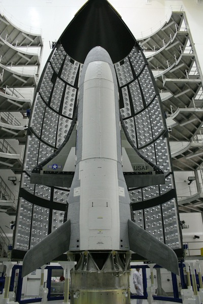 USAF X-37B Mini-Shuttle Shrouded in Secrecy