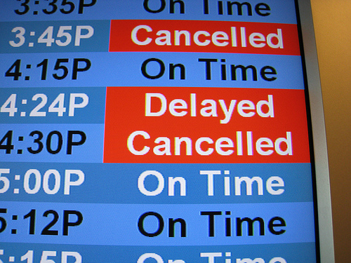 Storm Cancels 1,400 Flights Thursday