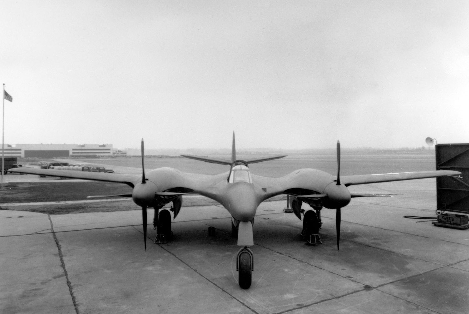 One of a Kind: McDonnell XP-67 Bat
