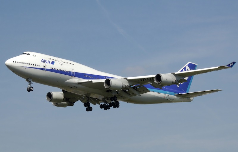 Iwakuni Fetes First Civilian Flight in 48 Years